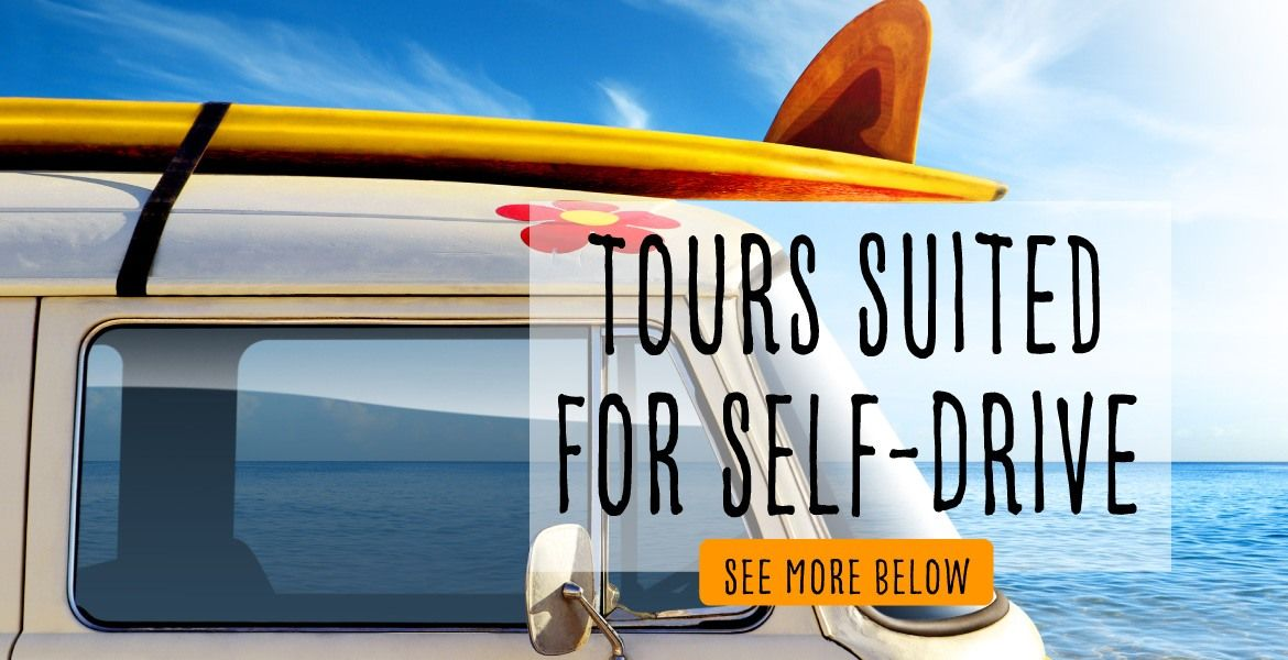 Tours suited for self-drive