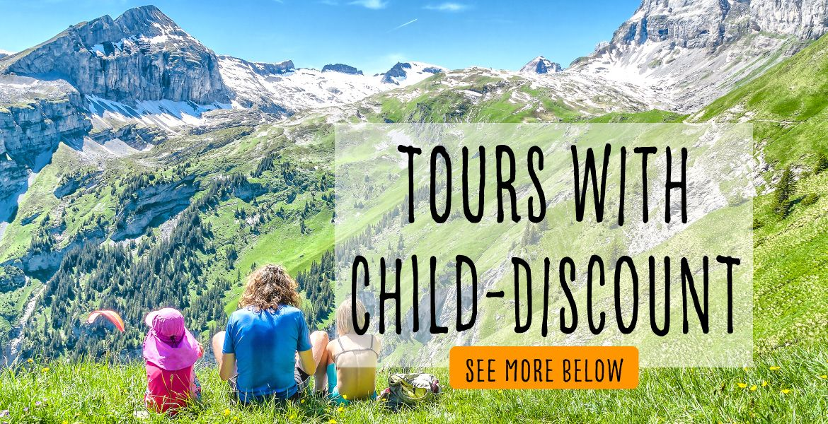 Tours with Children\'s Discount